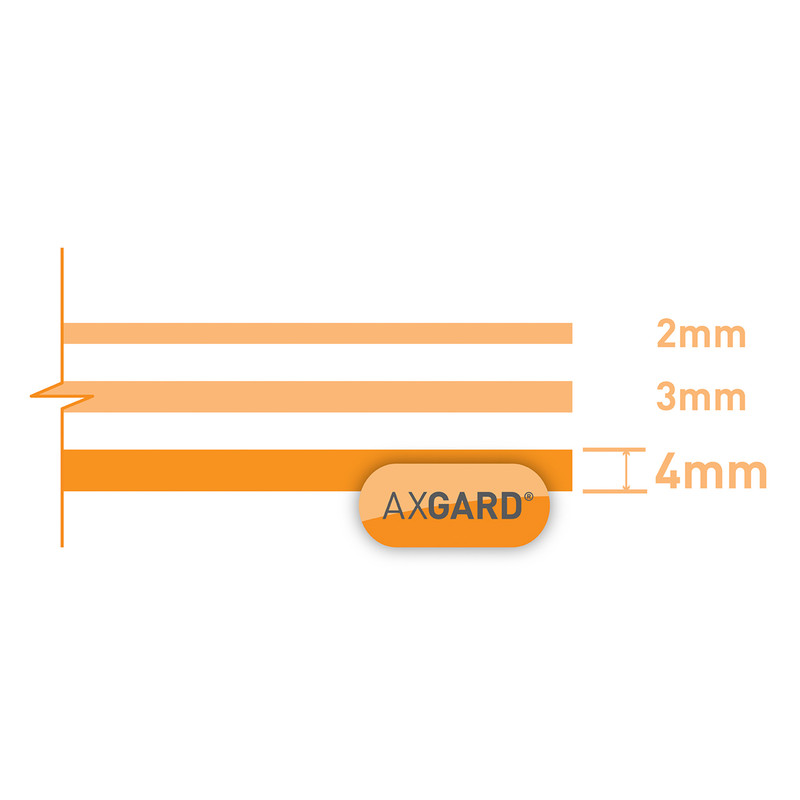 Axgard Polycarbonate Clear Impact Resisting Glazing Sheet