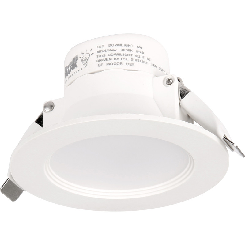 Mark Lighting LED 5W Fixed Dimmable Downlight IP44