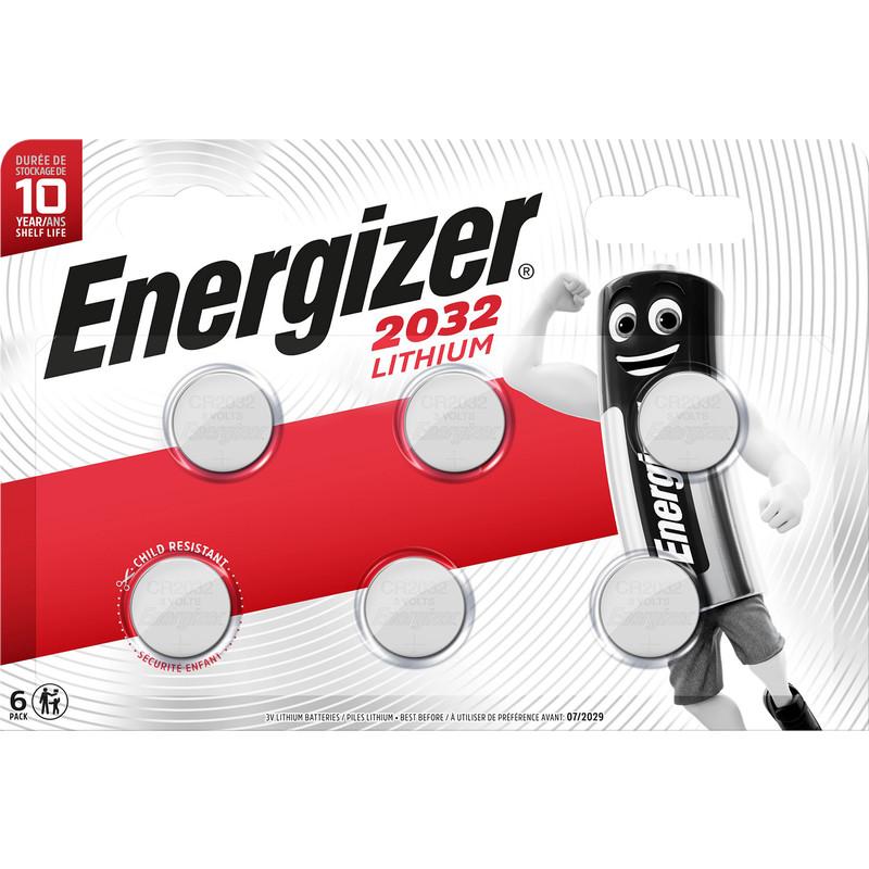 Energizer Lithium CR2032 BP6
