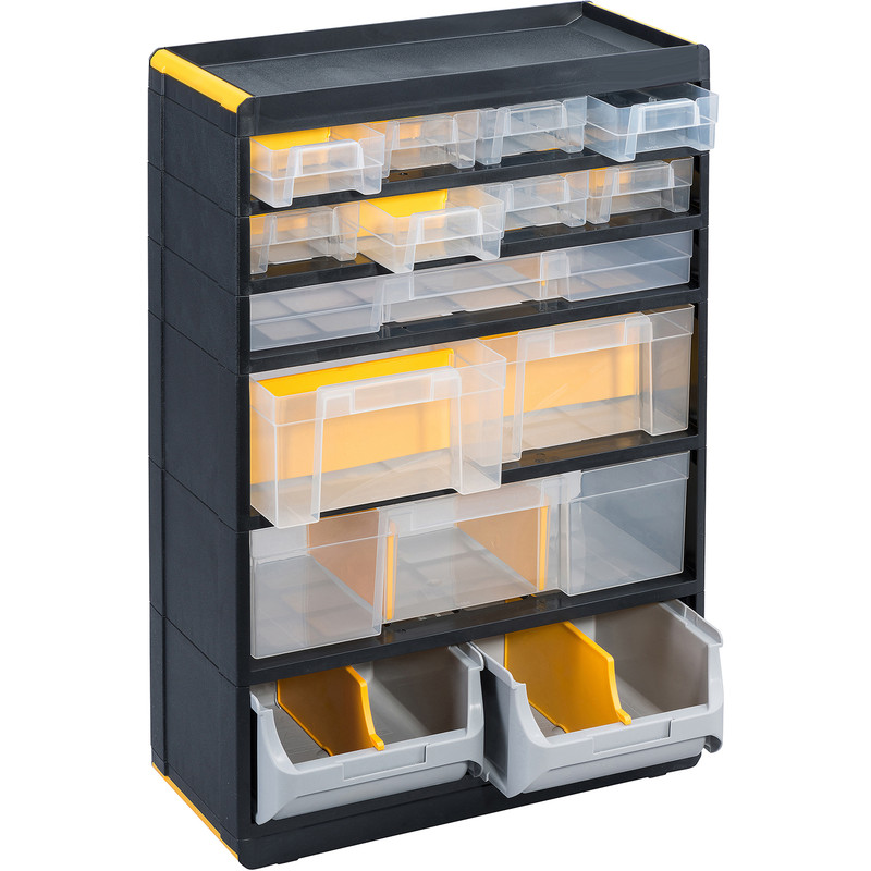Plastic Small Parts Professional Plus Cabinet
