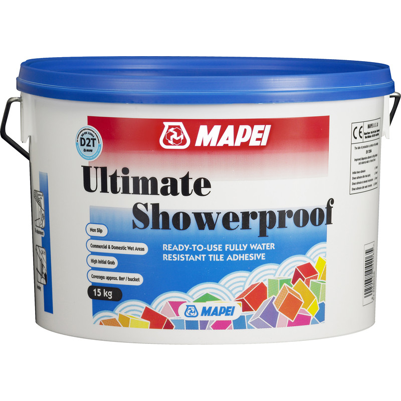 Mapei Ultimate Showerproof Wall Tile Adhesive 15kg