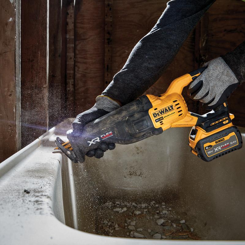 DeWalt 18V XR Flexvolt Advantage High Power Reciprocating Saw