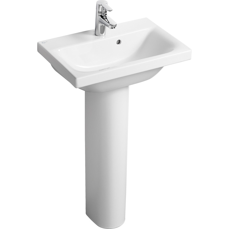 Ideal Standard Senses Space Basin And Pedestal