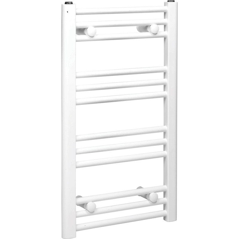 White Flat Towel Radiator