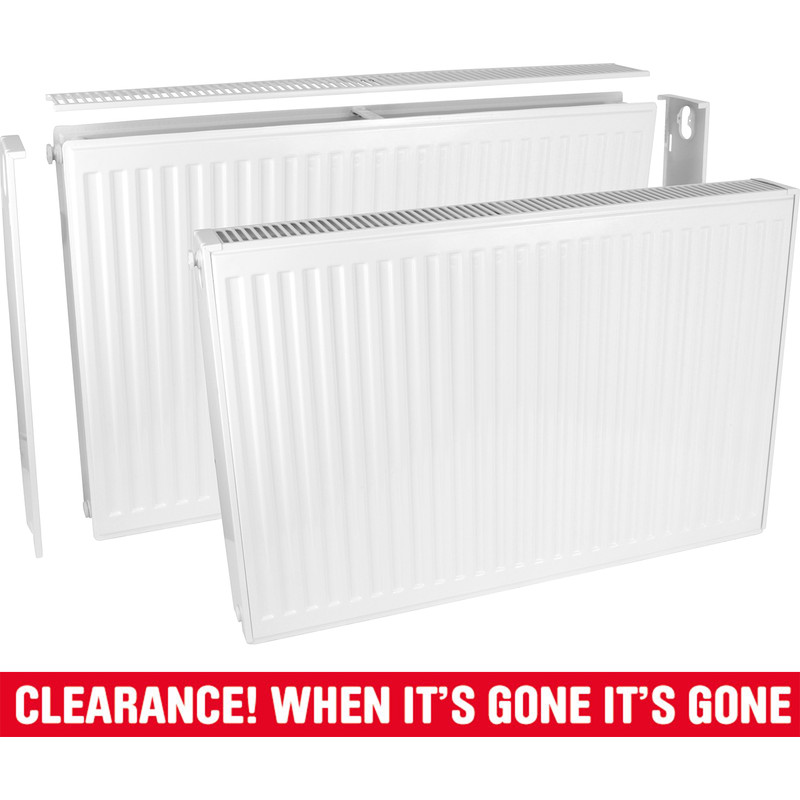Type 21 Double-Panel Single Convector Radiator