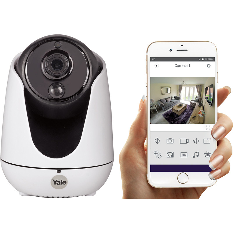 Yale Home View PTZ WiFi HD Security Camera