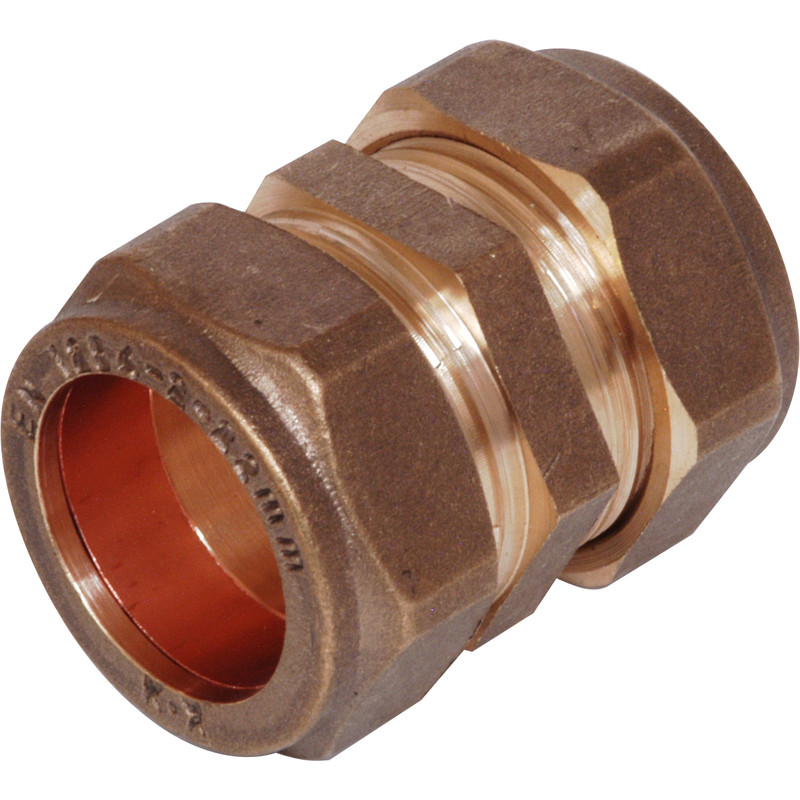 Compression Straight Coupler