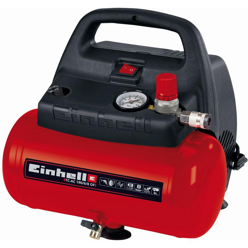 Einhell 6L 1.5hp Oil Free Air Compressor