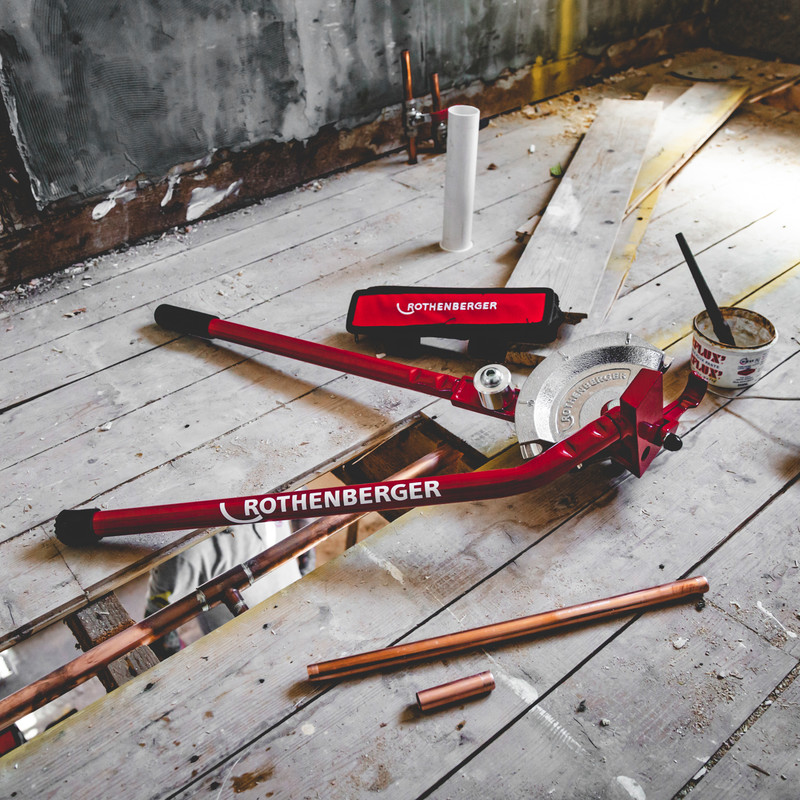 Rothenberger Multibender Pipe Bender