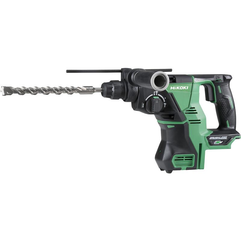 Hikoki DH36DPA 36V MultiVolt Brushless Rotary SDS Plus 28mm Hammer Drill