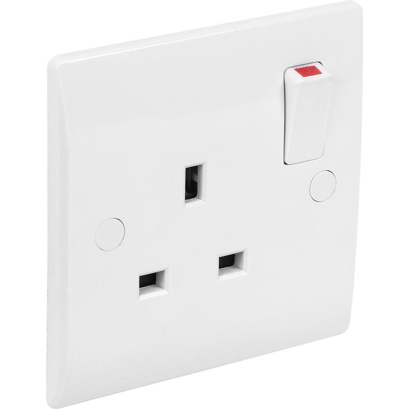Axiom DP Low Profile Switched Socket