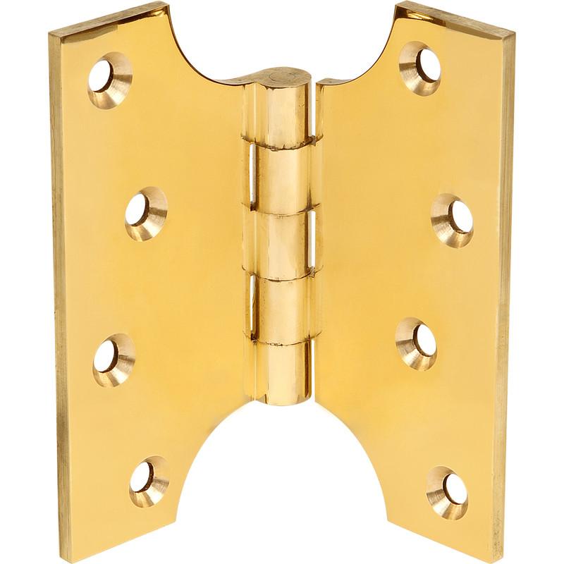 Parliament Hinge Polished Brass