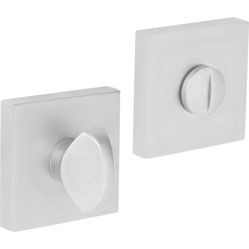 Square Bathroom Thumbturn 52x8mm