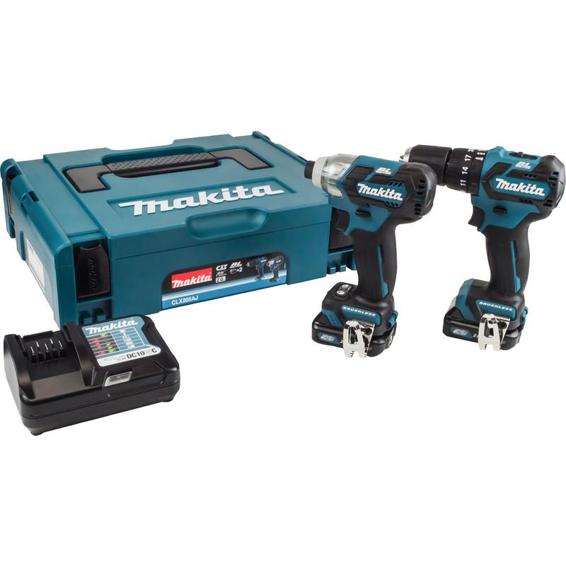 Makita CXT 12V Max Brushless Combi Drill & Impact Driver Kit