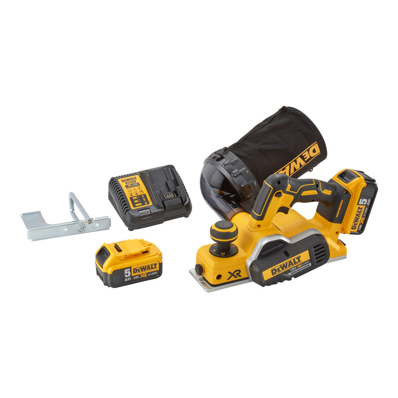 DeWalt DCP580 18V XR Cordless 2mm Brushless Planer