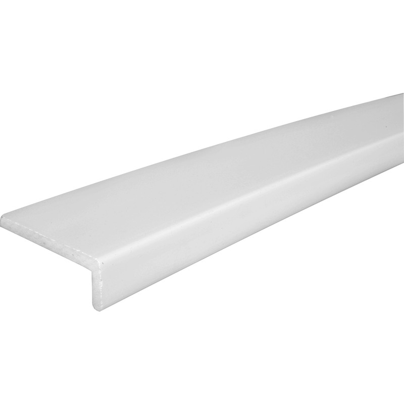 9mm White Cover Fascia Board