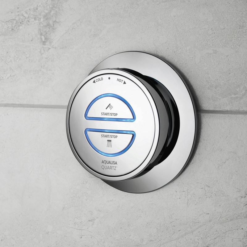 Aqualisa Quartz Classic Digital Divert Thermostatic Shower