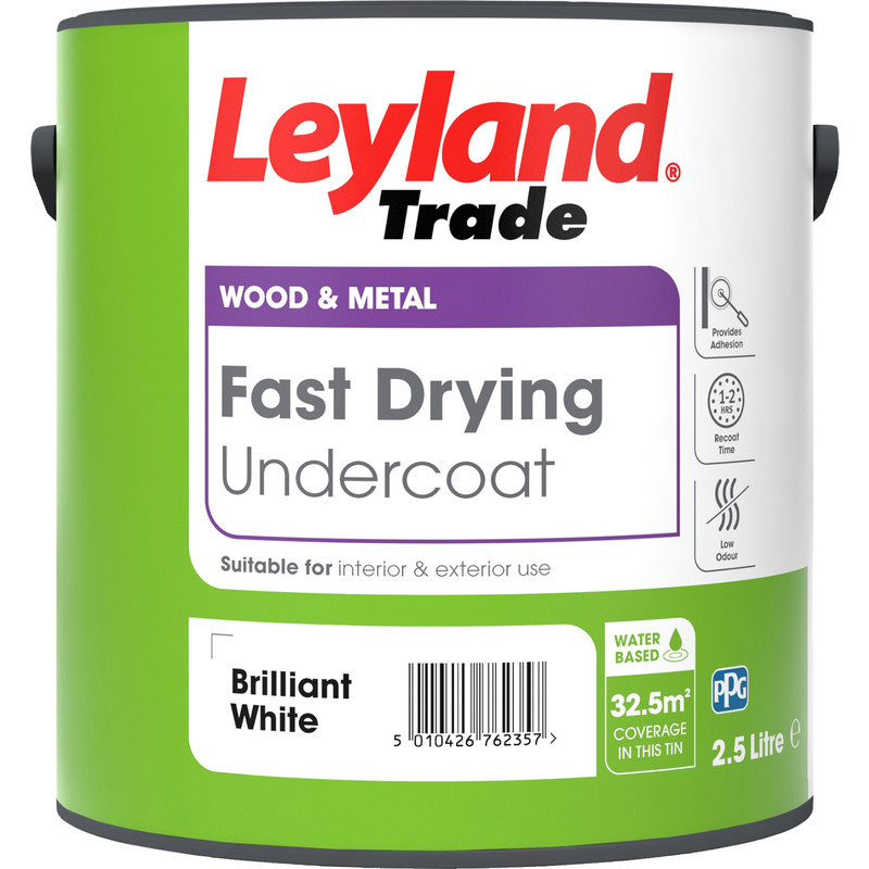 Leyland Trade Fast Drying Water Based Undercoat Paint