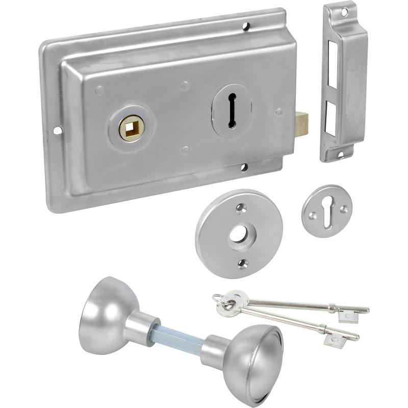 Rim Lock with Handles