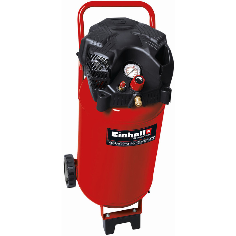 Einhell TC-AC240/50/10 50L 2Hp Upright Oil Free Air Compressor
