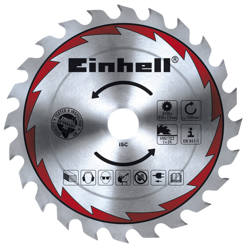 Einhell 1500W 190mm Circular Saw