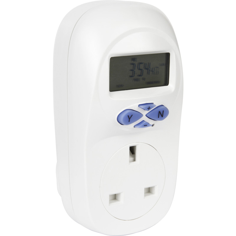 Greenbrook 7 Day Plug In Electronic Timer