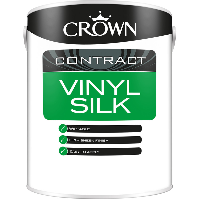 Crown Contract Vinyl Silk Emulsion 5L