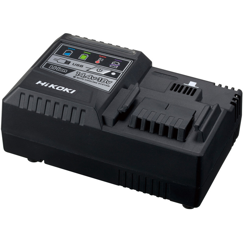 Hikoki UC18YSL3 Multivolt Li-Ion Slide Rapid Charger