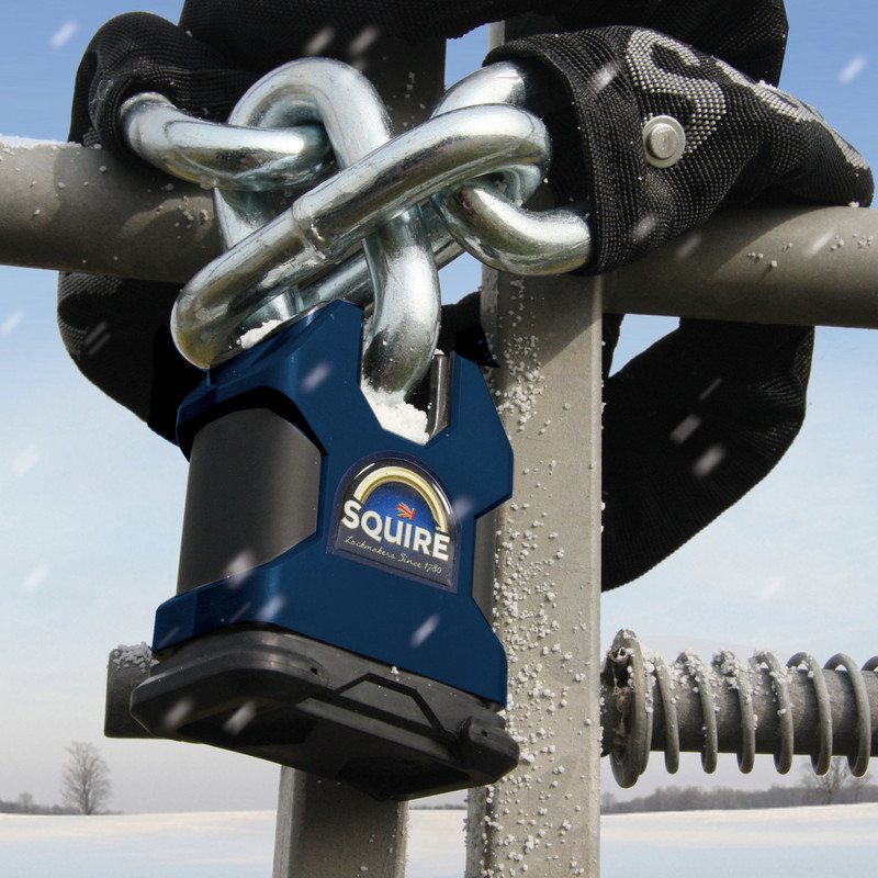 Squire Stronghold Solid Steel Padlock