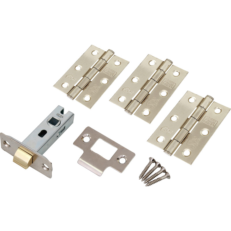 Fire Door Grade 7 Hinge & Latch Pack