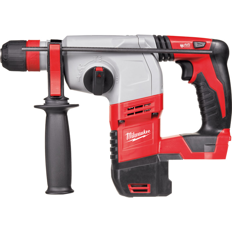 Milwaukee Hd18hx 18v Li Ion Cordless Heavy Duty 3 Mode Sds Plus Rotary Hammer Drill Body Only