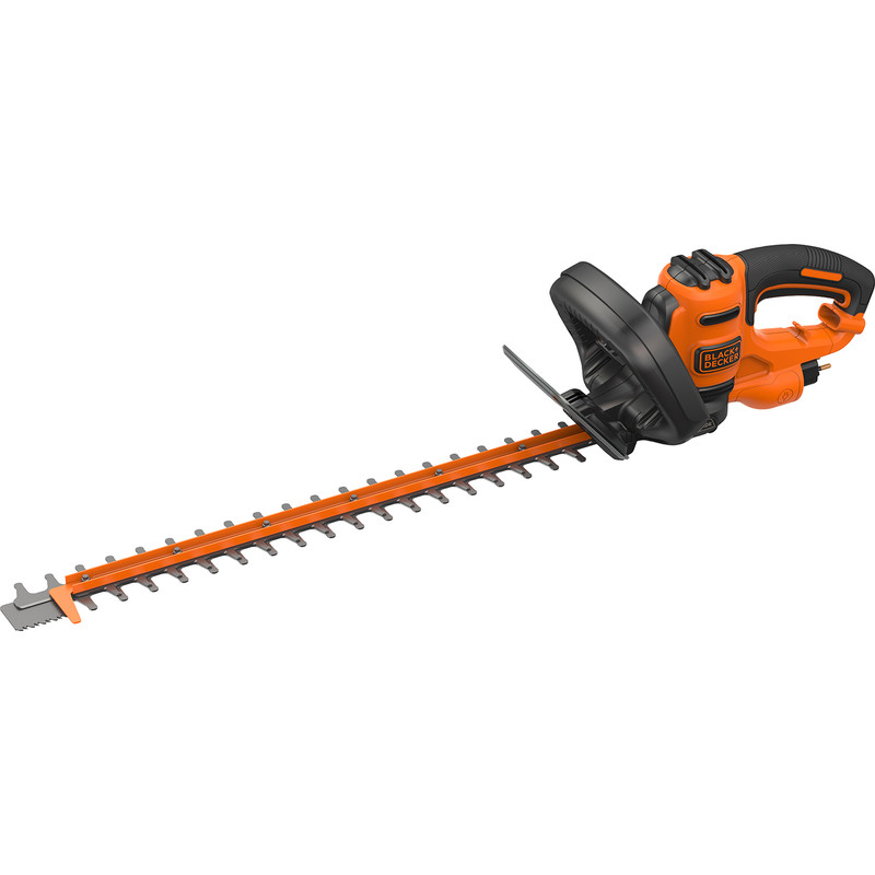 Black & Decker 500W 55cm Eletric Hedge Trimmer with Saw Blade
