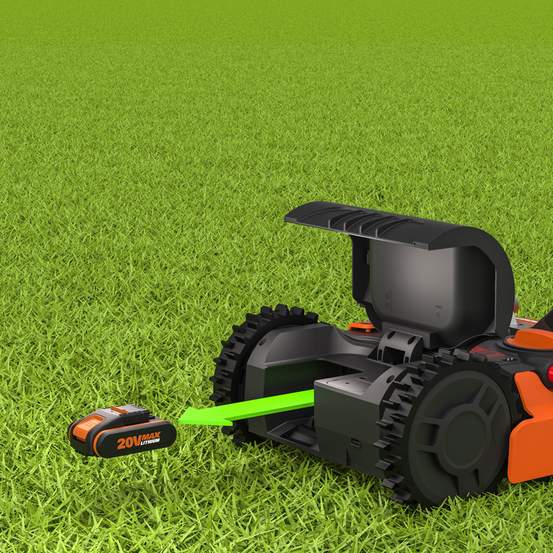 Worx Landroid WR130E Brushless 20V 18cm Robotic Lawnmower