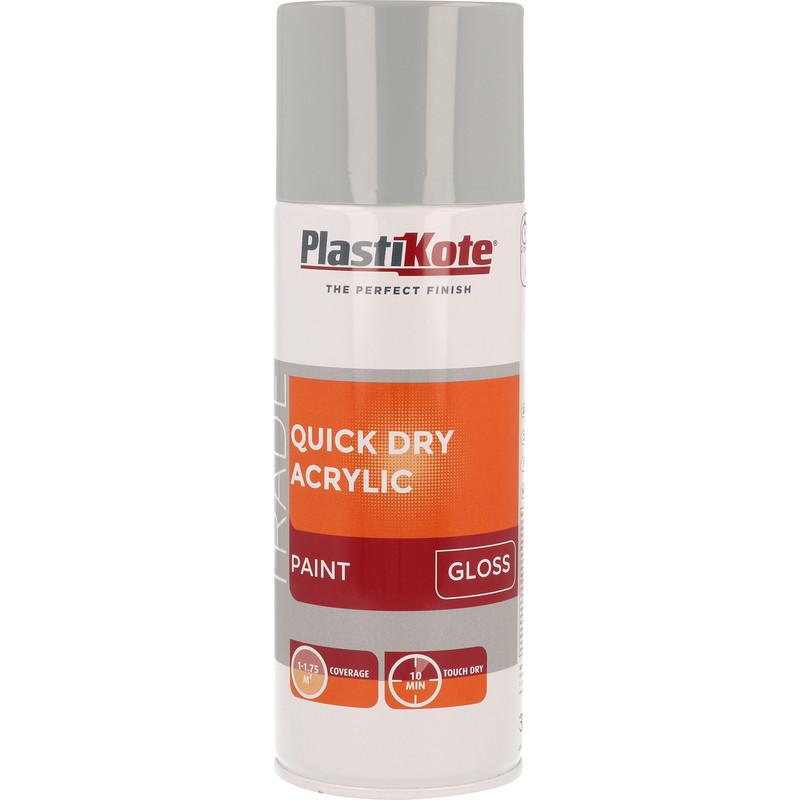Plastikote Quick Dry Acrylic Spray Paint 400ml
