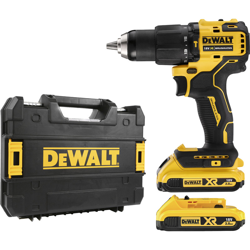 2x Carbon Brushes Use on Dewalt Drill Size - 6 X 8 X 18