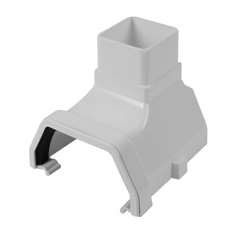 114mm Square Line Stop End Outlet