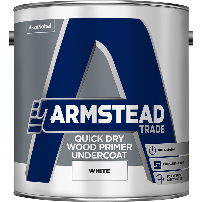 Armstead Trade Quick Dry Wood Primer Undercoat
