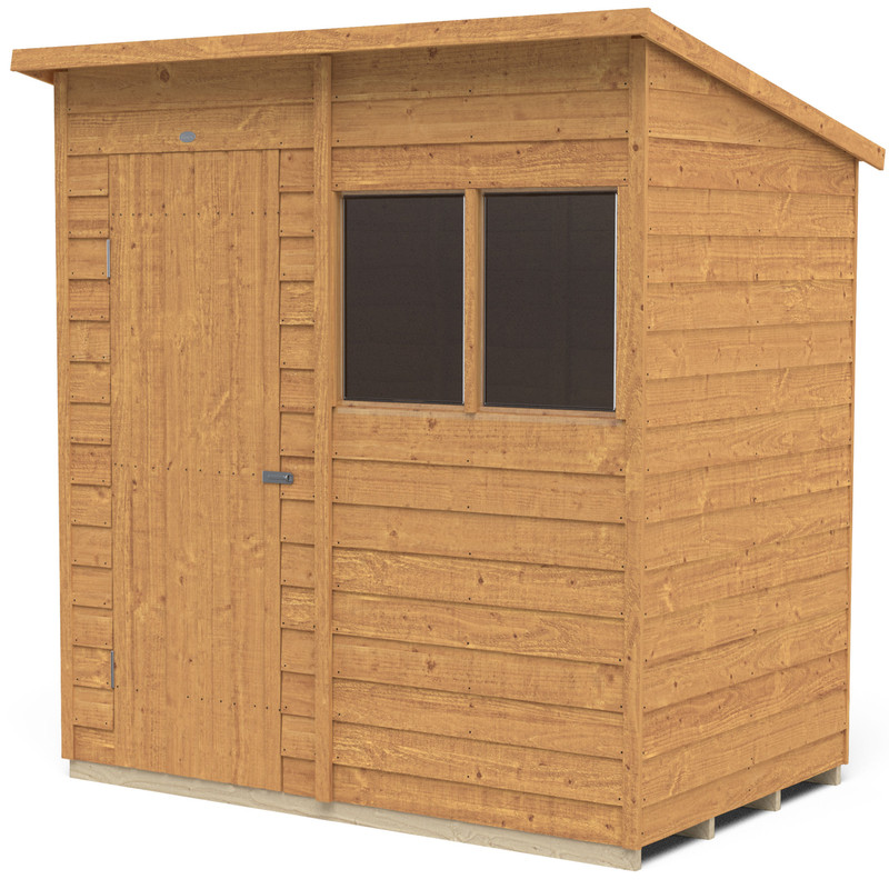 Forest Garden Overlap Dip Treated Shed