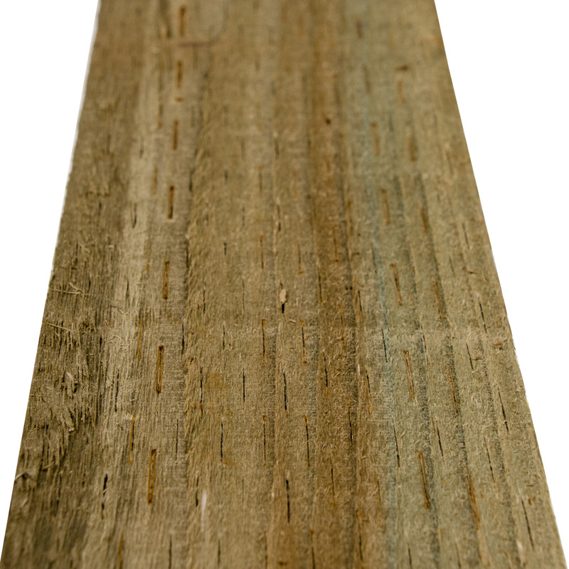 Forest Garden Green Incised Fence Post 6ft