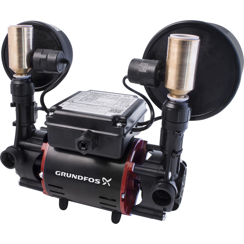 Grundfos STR2 Regenerative Twin Shower Pump