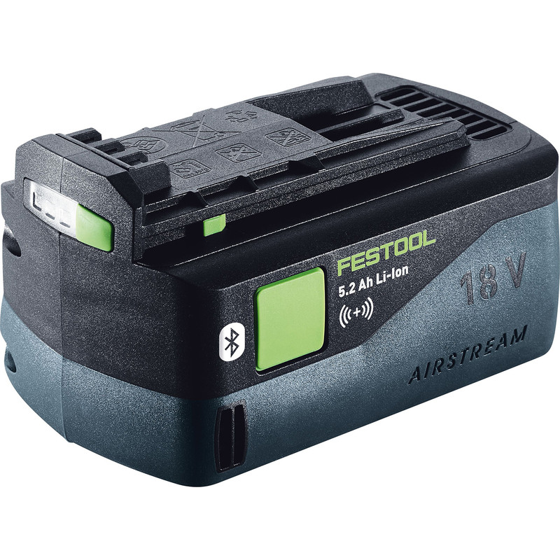 Festool 18V Li-Ion BP 18 Li ASI Bluetooth Battery