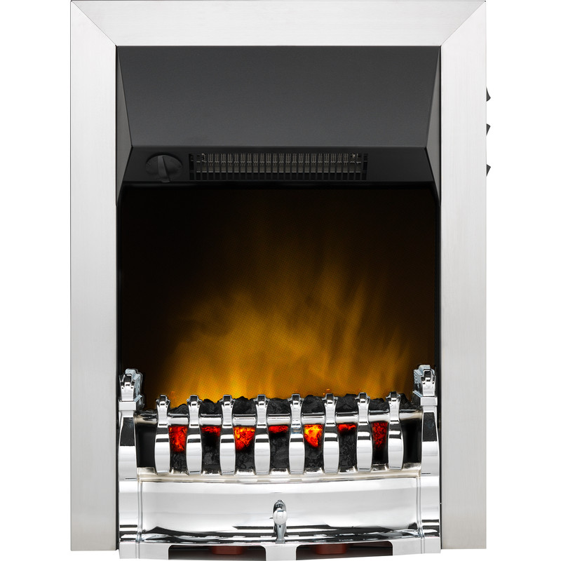 Dimplex Balmoral Ecolite Chrome Inset Electric Fire