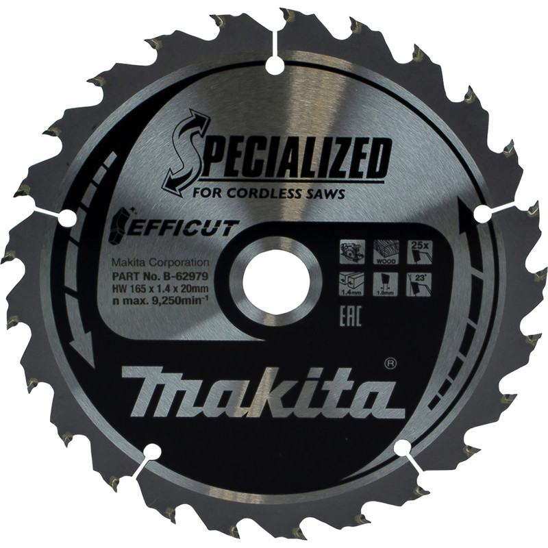Makita Efficut TCT Saw Blade