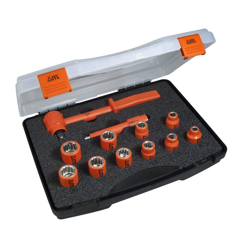 """ITL Insulated 1/2"""" Socket Set Drive"""