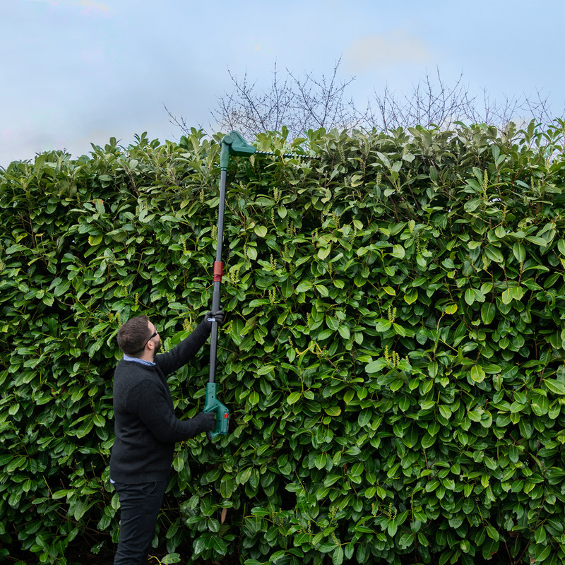 Webb 20V 50cm Cordless Long Reach Hedge Trimmer