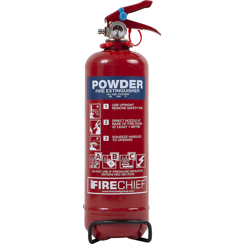 Firechief Dry Powder Fire Extinguisher