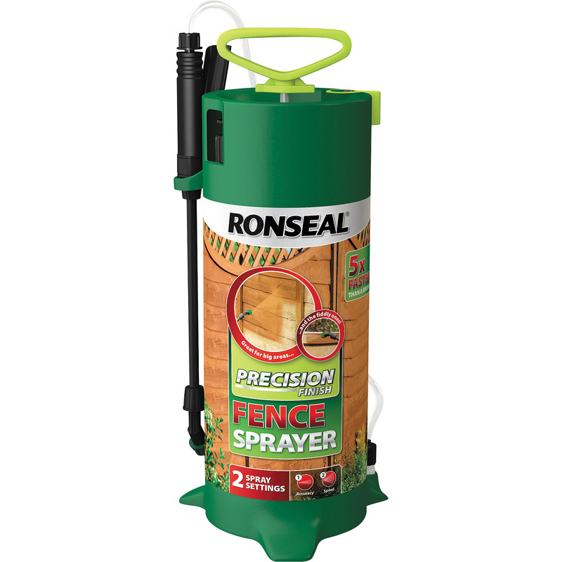 Ronseal Precision Finish Fence Pump Sprayer