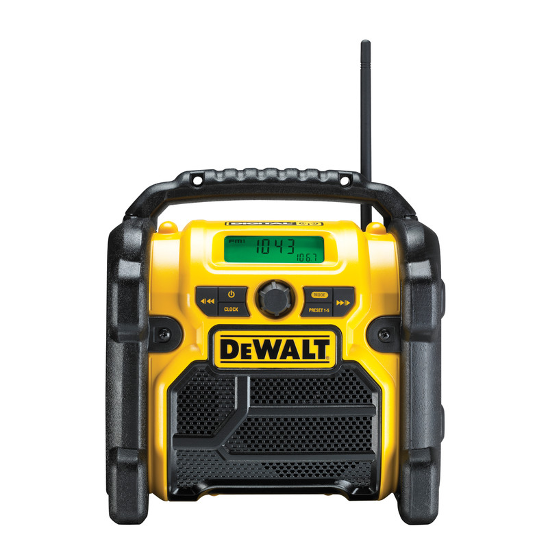 DeWalt  DCR020-GB 18V XR Compact Digital DAB Radio