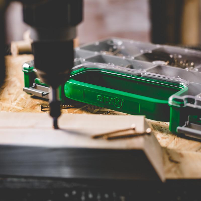 Spax Yellox Mini Sorta Screw Case