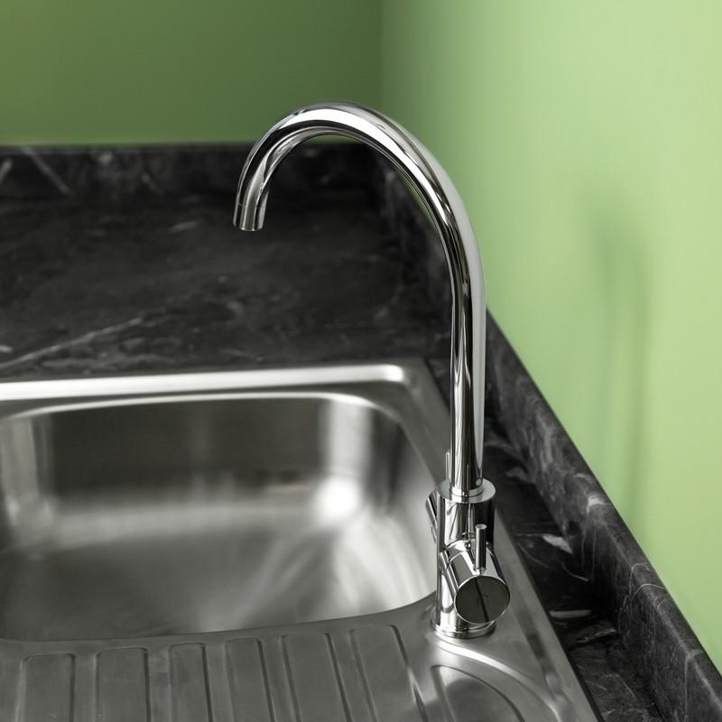 Ebb + Flo Castell Mono Mixer Kitchen Tap